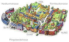 Die Stadt Zürich ist westwärts gewachsen, hauptsächlich mit Bürobauten, aber auch mit immer mehr Wohnungen. Dabei hat sie das ehemalige Stadion-Areal, wo schon das alte Stadion in weiser Voraussicht abgebrochen wurde, erreicht. Ein Fussballstadion mit seinen Massenaufläufen, seiner nur periodischen Nutzung, passt nun nicht mehr dorthin – es macht kein Stadtleben. Nuno, City Life
