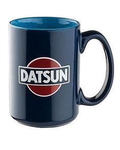 OFFICIALLY-LICENSED-NISSAN-DATSUN-RETRO-CERAMIC-COFFEE-MUG-CUP-BLUE