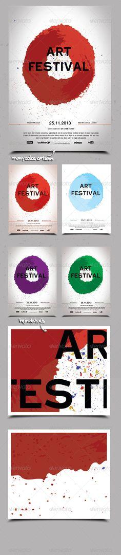 Art Festival Poster / Flyer