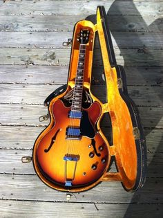 1969 GIBSON ES-335 VINTAGE SUNBURST ELECTRIC GUITAR SEMI HOLLOW BODY ARCHTOP!!!