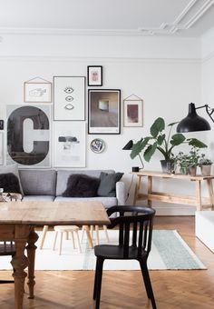 via My Scandinavian Home // living - dining