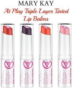 Mary Kay At Play Triple Layer Tinted Lip Balms