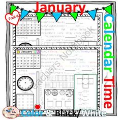 MORNING WORK Calendar Time Worksheets - January - Common Core from TheTravelingclassroom on TeachersNotebook.com - (32 pages) - January Worksheets - perfect for morning work and setting new routines! *January 2015 This will be updated every year!