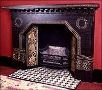 Fireplace, Christopher Dresser 1834-1904