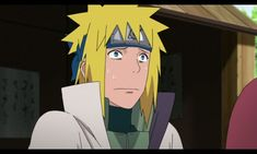 When Minato remembers his past in the Mont Myoboku