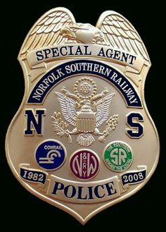 Police, Firefighter and Military Badges from Lawman Badge Company Law Enforcement Badges, Law Enforcement Officer, Fire Badge, Police Cars, Police Badges, Sheriff Badge, Norfolk Southern, Police Uniforms, Police Patches