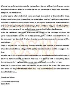 Wrestling truth  #wrestling