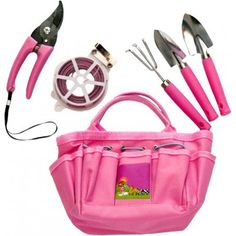 Childu0027s Blue Tote Bag With Mini Tools | Kids Gardening Tools | Pinterest |  Gardens, Minis And Garden Tools