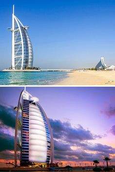 The Burj Al Arab is the only self-proclaimed seven-star hotel in the world. Click through to read the top 10 things to do in Dubai!
