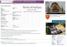 Renée de Châteaubriant épouse d'Aubigny