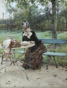 "Adrien Moreau - ""In the Park"""