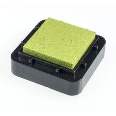 Encreur 2,5 x 2,5 cm Vert