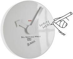 Orologio Blank Wall Clock Alessi Personalizzabile