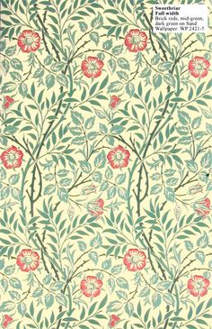 Historic Style - Sweetbriar by William Morris