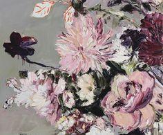 Craig Waddell (Australian, - The Heartbeat of Silver Light, 2016 (Paintings Oil on Linen) National Art School, Bachelor Of Fine Arts, Winter Art, Beautiful Drawings, Contemporary Paintings, Minion, Art Boards, Art Inspo, Flower Art