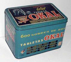 En 1926 Rafael Puerto Galiano inicia sus primeras actividades industriales, con formulaciones magistrales preparadas en farmacia. En 1932 nace la tableta Okal, uno de los analgésicos mas consumidos en España durante tres décadas y base del desarrollo de Puerto Galiano. #medicinasantiguas