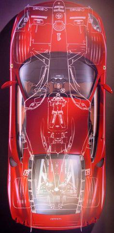 Ferrari F430 @ Galleria Ferrari museum in Maranello.