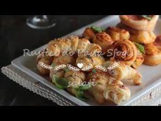 Rustici di pasta sfoglia salati | Status mamma fingerfood veloci facili