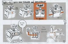 Pixar Concept Art Collection - WALL-E via http://www.itsartmag.com