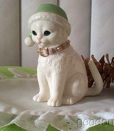 Adorable Lenox cat.