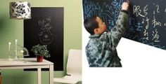 Walplus 45 x 200 cm Huge UK Chalkboard Blackboard Vinly Wall Stickers Mural Decals Art: Amazon.co.uk: Kitchen & Home Wall Stickers World, Wall Stickers Murals, Wall Decal Sticker, Blackboards, Diy Tools, Decoration, Playroom, Chalkboard, Kids Rugs