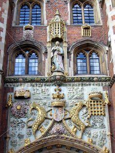 Entrance St. Johns College, Cambridge