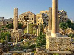 vestiges romains à Tyre, Lebanon by socca via flickr