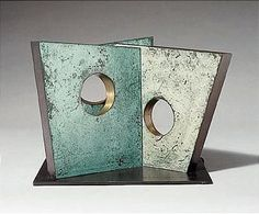 Barbara Hepworth, MAQUETTE FOR WALK-IN Abstract Sculpture, Sculpture Art, Abstract Art, Steel Sculpture, Bronze Sculpture, Barbara Hepworth, Wall Sculptures, Art World, Action Painting