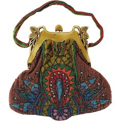 Vintage 1920s Art Deco Beaded Purse With Carved Celluloid Frame C: I actually have one of these! Found in an op-shop!!!