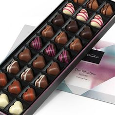 The Valentine's Day Sleekster - Lift the lid on this special seasonal sleekster and you'll find 27 heart-shaped truffles