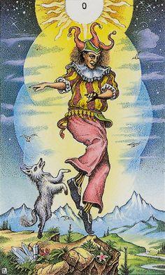 The Fool - Cosmic Tarot