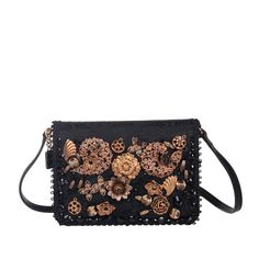 ef368590e299 DOLCE   GABBANA Jacquard Crossbody Bag Embellished Made in Italy RRP 1170   fashion  clothing  shoes  accessories  womensbagshandbags ...