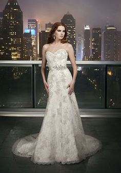 Sweetheart Tulle Fit N Flare Natural Waist With Lace Appliques Vintage Wedding Gowns - Lunadress.co.uk