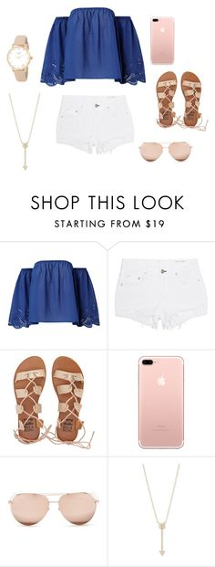 """""""Summer Outfit"""" by emmarremlinger on Polyvore featuring rag & bone, Billabong, Linda Farrow, EF Collection and Kate Spade"""