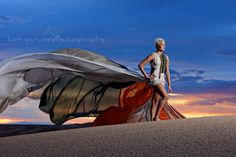 Kim Garcia Photography Yuma, Az  Senior portrait photography with Dreamshoot Rentals trooper parachute dress in the imperial Sand Dunes  www.kimgarciaphotography.com