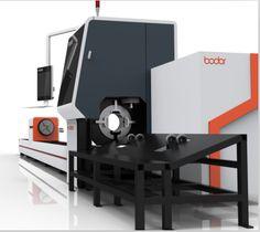 Jinan Bodor Factory Price CNC Pipe Laser Cutting Machines 3mm Carbon steel Tube Fiber Laser 1000w