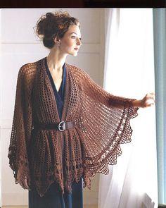 #crocheted cape  crochet jacket #2dayslook #crochetfashionjacket   www.2dayslook.com