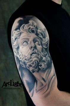 Bernini Tattoo by Mason Williams