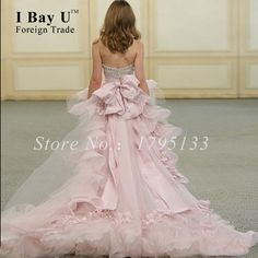 Luxury Train Sweetheart Beaded Pink Evening Dress With Long High Low Short Front Back Prom Dresses 2016