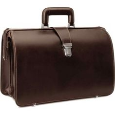 Johnston & Murphy - Lawyer's Briefcase - Dark Mahogany