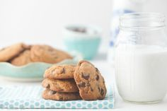 The Perfect Nut-Free, Dairy-Free, Grain-Free Chocolate Chip Cookies (Paleo too!)