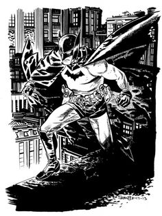 Batman -Art by Chris Samnee
