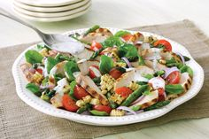 Grilled Corn and Spiced Chicken Salad