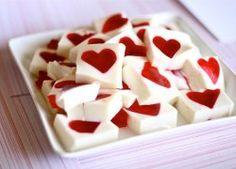 Gelatina Mosaico de Corazón