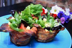 Bacon baskets - Recipe #recipe