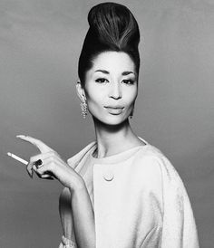 China Machado, *1929, former supermodel and Bazaar fashion editor