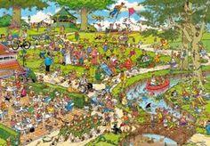 Jumbo - Puzzle - Jan Van Haasteren - 3000 Pièces - Le parc: Amazon.fr: Jeux et Jouets
