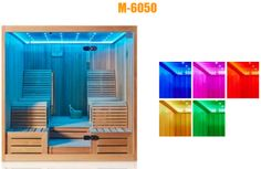 Monalisa Harvia stove luxury dry sauna house European style sauna room colorful LED light sauna enclosure sauna room wholesale Different prices for Canadian Cedar Wood Sauna Room or African White Wood Ayous Sauna Room (Dimension: Sauna House, Sauna Room, European Style, European Fashion, Dry Sauna, Cedar Wood, Room Dimensions, White Wood, Stove