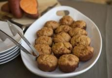 RECIPE: Sweet Potato muffins  Learn more about THRIVE products and how to get them into your home at www.thrivingmomma.net