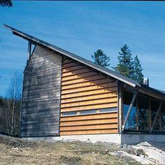 Finnish ceramic artist Karin Widnas' house and studio southwest of Helsinki.